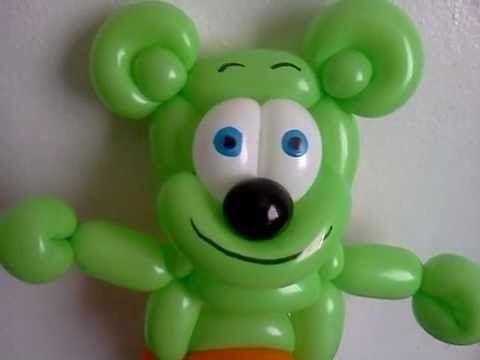 Gummibar Balloon Animal Gummybear The Gummy Bear Song