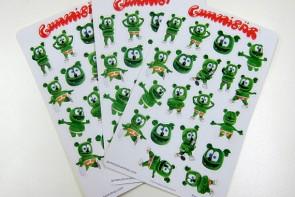 Gummibar Gummybear The Gummy Bear Song Stickers