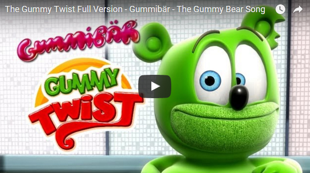 Gummibar Gummybear Gummy Twist Featured
