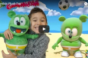 Meandmykids YouTube Channel Kids Review Toys Gummibar The Gummy Bear Song I'm a gummy Bear Gummybearintl