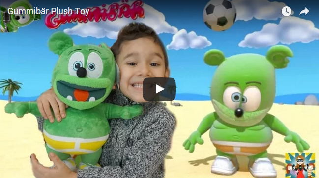 Meandmykids YouTube Channel Kids Review Toys Gummibar The Gummy Bear Song I'm a gummy Bear Gummybearintl