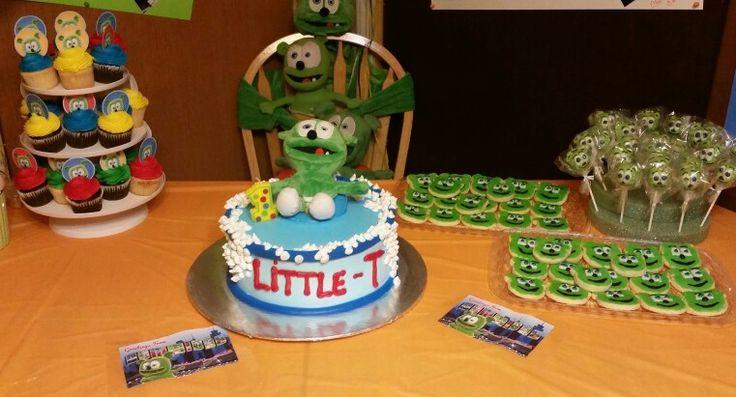 Gummibar Gummybear The Gummy Bear Song Kids Birthday Party Cake Cookies Plush Toy YouTube Gummybearintl