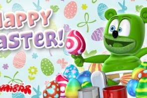 Happy Easter Gummibar Gummybear Gummy Bear song Gummybearintl