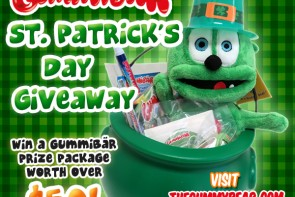 Gummybear St. Patricks Day Giveaway Gummibar Gummy Bear Song