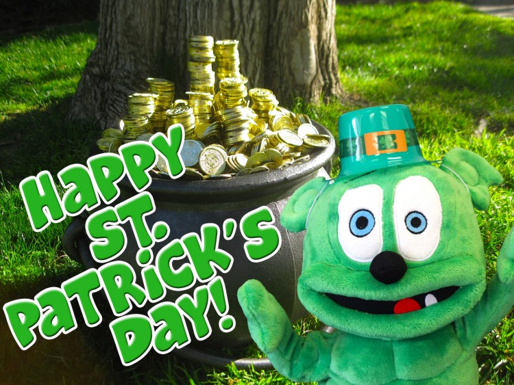 St. Patrick's Day Gummibar Gummybear Gummy Bear Song