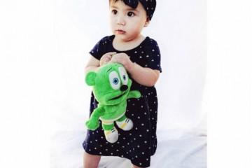 cute adorable stylish baby fashionista gummybear gummibar gummy bear song gummybearintl