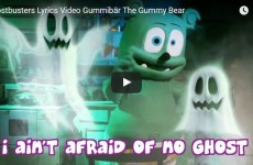 gummybear gummibar ghostbusters ghostbuster music lyric video
