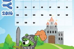 gummibar calendar may 2k16