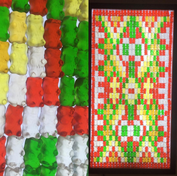 gummy bears quilt gummybear gummy bear candy gummibar gummy bear song