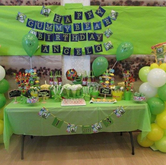 gummibar gummybear gummy bear song i'm a gummy bear kids childrens birthday party
