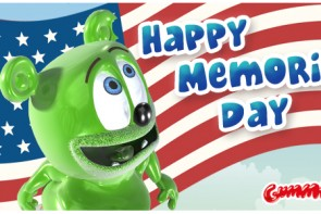 happy memorial day 2016 gummybear gummibar gummy bear song i'm a gummy bear youtube youtuber