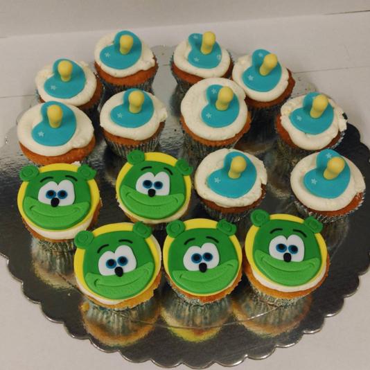 Nuki Nuki Themed Gummib 228 R Birthday Cupcakes Gummib 228 R
