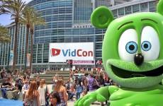 vidcon 2016 youtube youtuber convention anaheim california gummy bear gummybear gummibar gummy bear song im a gummy bear gummybearintl
