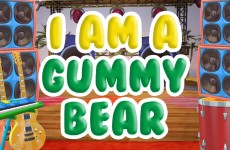 gummy bear song im a gummy bear vidcon 2016 animated live action music video gummibar gummybear gummybearintl