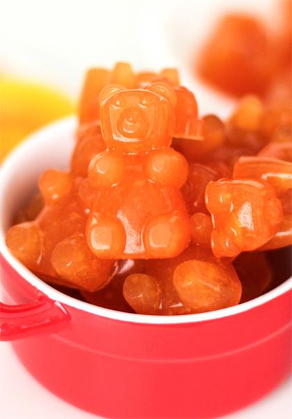 peach mango gummy bears candy recipe pinterest healthy snack