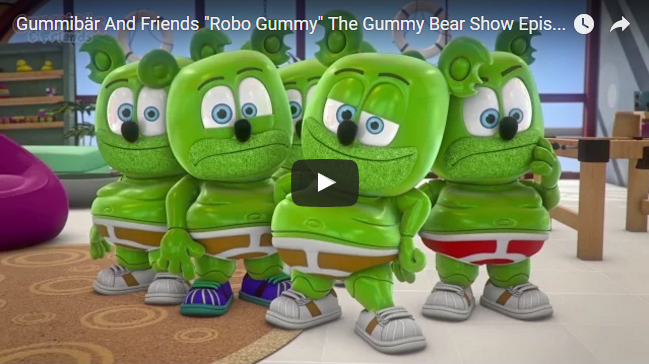robo gummy gummibar and friends the gummy bear show im a gummy bear song youtube animated web series cartoon original