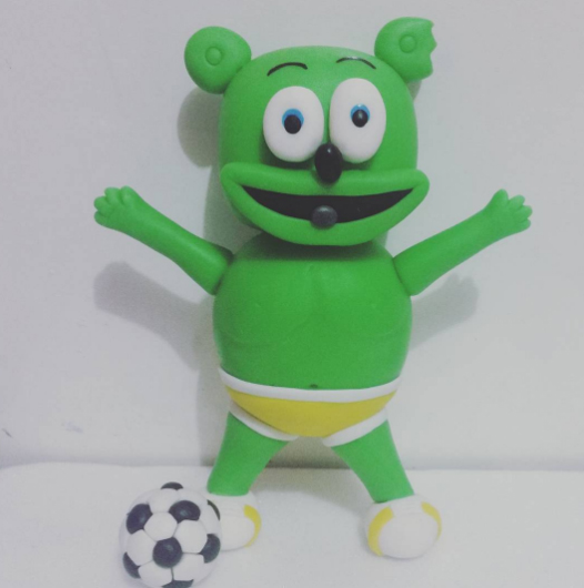 soccer cake fondant decoration gummibar gummy bear gummybear im a gummy bear song gummibar and friends youtube gummybearintl