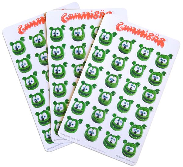 stickers planner notebook back to school merchandise gummy bear gummibar gummy bear song show original cartoon series