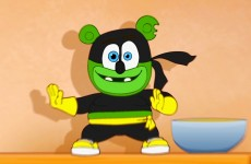 im i am a gummy bear song gummibar ninja youtube youtuber animated original cartoon music video funny cute adorable food snacks cooking dancing singing