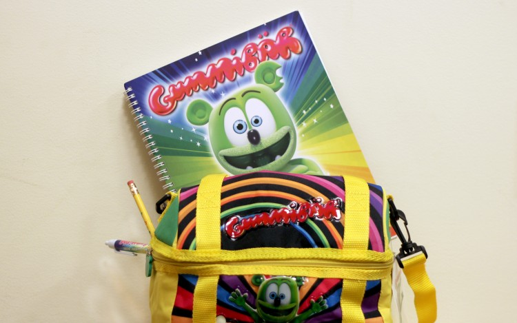 gummibar lunchbag bundle back to school shopping kids supplies