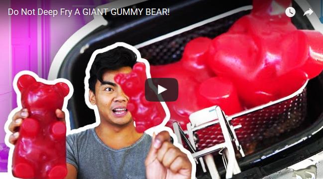 gummy bear, deep fried, fried food, bear, gummy bear candy, gummybear, gummibar, gummy bear song