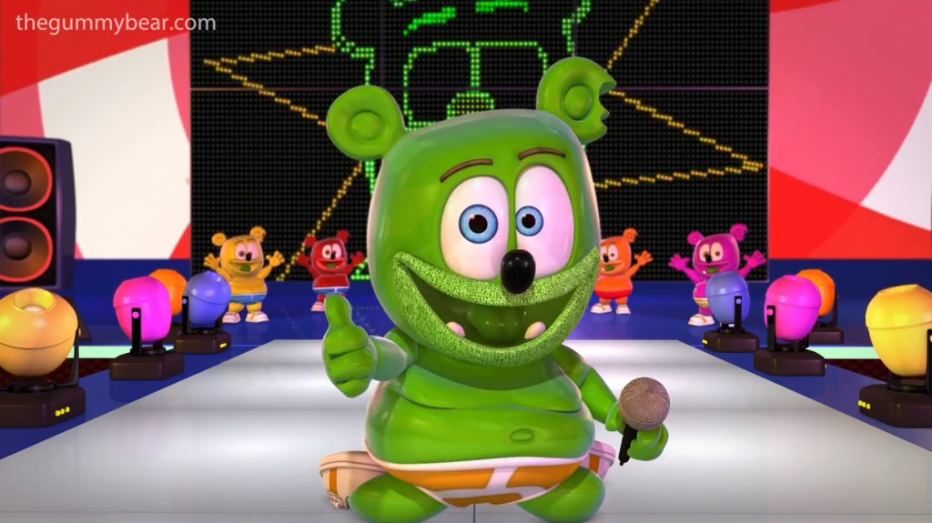 lollipop gummy bear gummibar