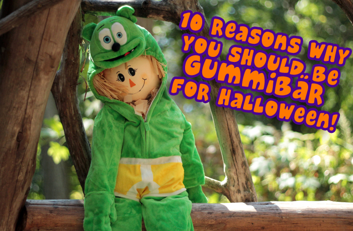 & 10 Reasons Why You Should Be Gummibär for Halloween! - Gummibär