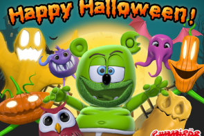 halloween 2016 trick or treat gummibar gummybear gummy bear song im a gummy bear spooky monster mash ghostbusters