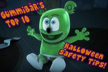 halloween 2016 childrens kids safety tips gummibar gummybear im a gummy bear song youtuber youtube animated original cartoon web series