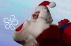 funny wacky hilarious gif giphy santa claus christmas holidays 2016 gummibar gummy bear song