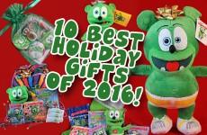10 best holiday gifts christmas 2016 kids childrens cartoon character gummy bear gummybear gummibar gummy bear song im a gummy bear gummybearintl