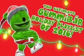 ultimate gummibar gummy bear holiday playlist 2016 happy holidays merry christmas happy hanukkah