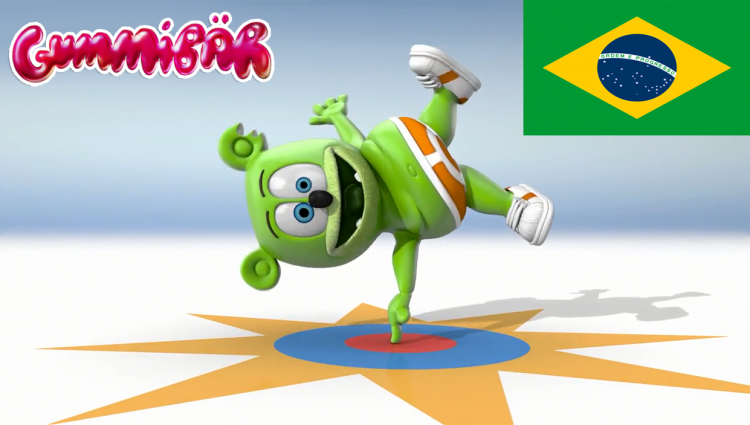 brazil brasil brazilian portuguese i am a gummy bear the gummy bear song gummibar hd youtube youtuber cartoon animated youtube youtuber