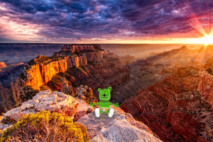 gummy bear song im a gummy bear gummibar gummybear international grand canyon
