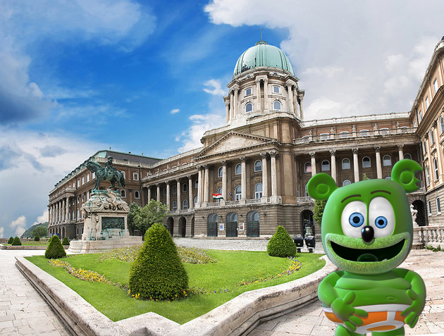 hungary hungarian magyar buda castle im a gummy bear the gummy bear song gummibar