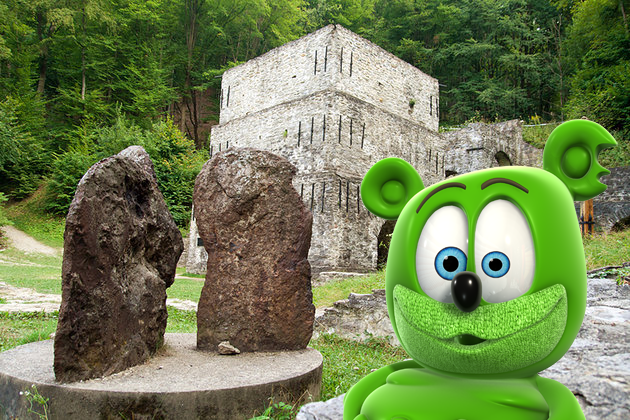 gummy bear gummibar gummybear gummy bear song im a gummy bear around the world travel hungary hungarian caves lillafured
