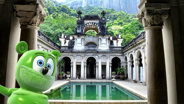 brazil parque lage brasil portuguese im a gummy bear i am a gummy bear around the world im i am a gummy bear song youtube youtuber animated cartoon