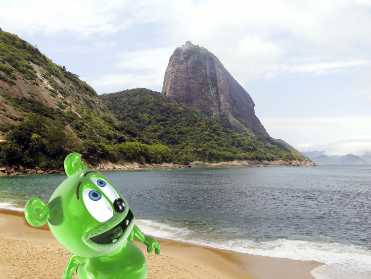 sugarloaf mountain brazil brasil portuguese brazilian language travel tourism gummy bear song gummybear gummibar international youtube youtuber animated kids childresn cartoons web series
