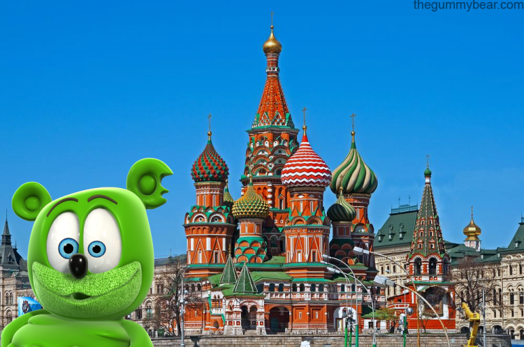 st. saint basil's cathedral moscow russia long russian version the gummy bear song i am a gummy bear gummibar