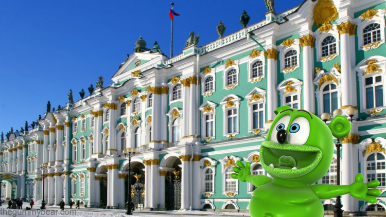 winter palace russia travel blog i am a gummy bear song gummibar gummybear gummybearintl