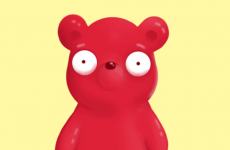 dab dabbing cute gummy bear gummy bears candy candies adorable gif gummy bear song im a gummy bear show animated cartoon character