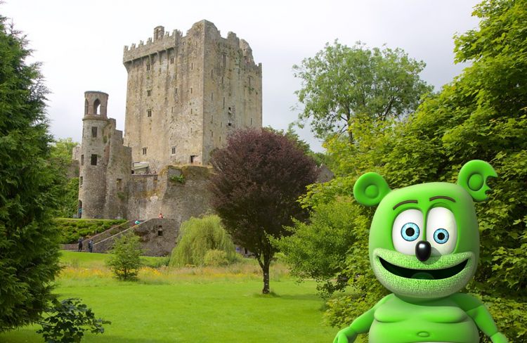 blarney castle ireland gummy bear song i am a gummybear international gummibar ireland irish