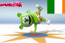 irish gummibar gummybear i am a gummy bear song gaelic ireland around the world childrens kids music animated cartoon show original web series
