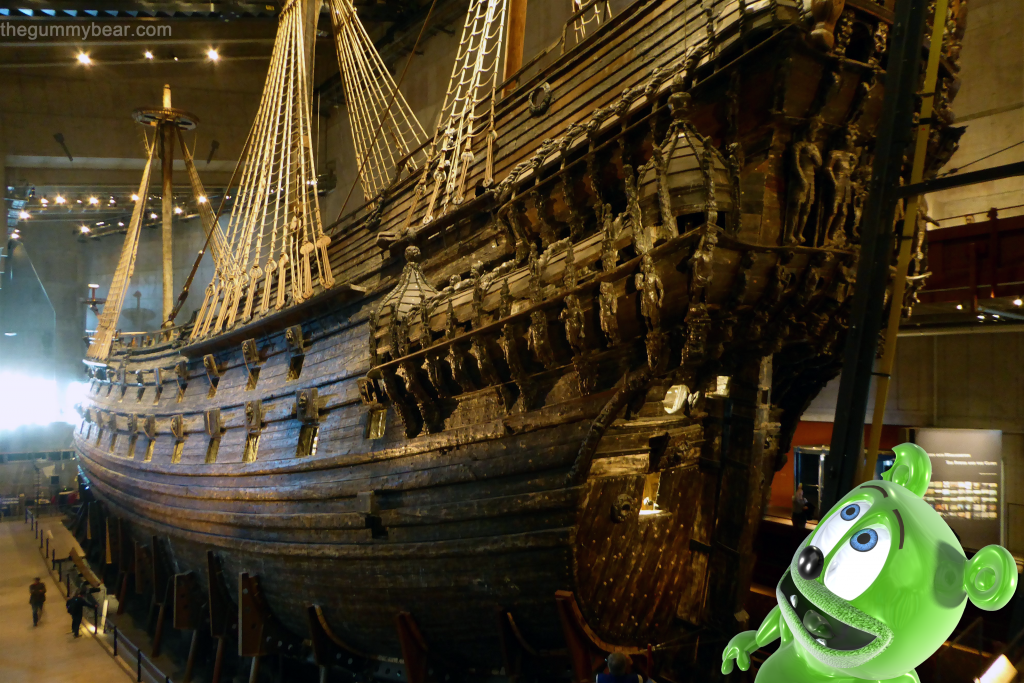 vasa ship museum sweden swedish travel tourism blog gummy bear i am a gummybear song gummibar youtube youtuber animated cartoon kids show