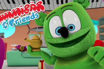 gummy bear show gummibar and friends i am a gummy bear song the magic lamp animated kids original cartoon web series show