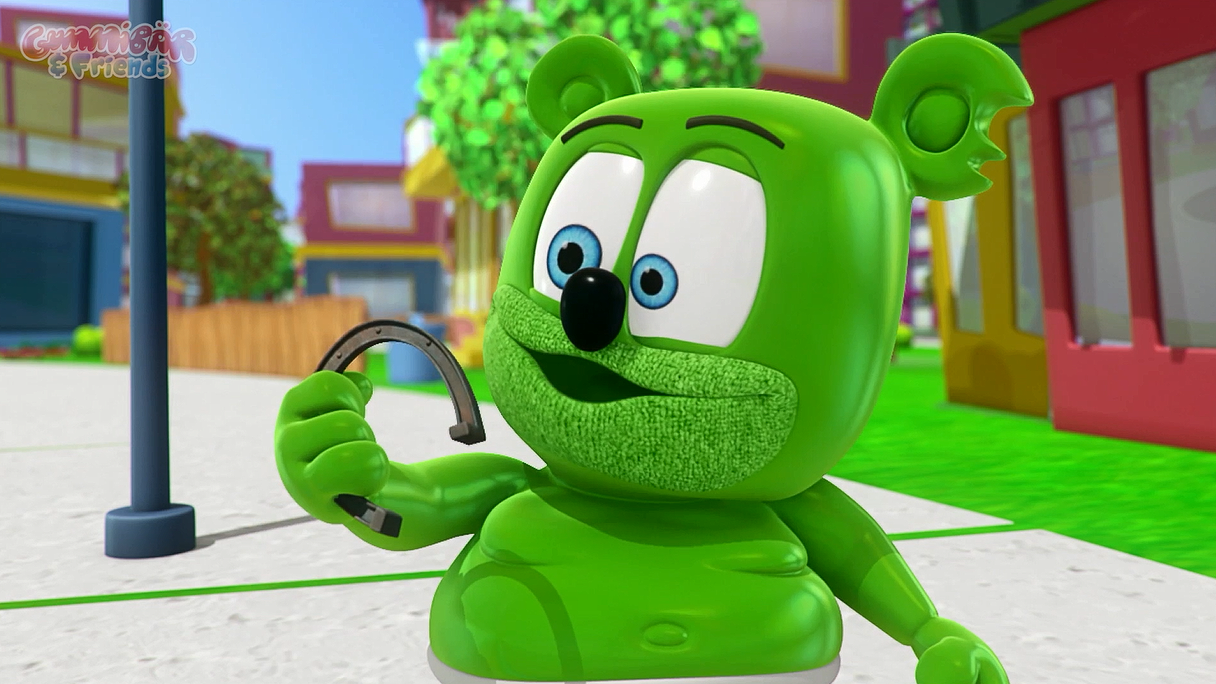 gummy bear show gummibar gummybear lucky charm youtube youtuber kids show cartoon animated character web series original