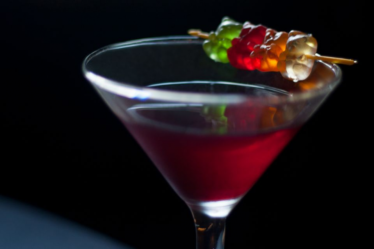 gummy bear martini