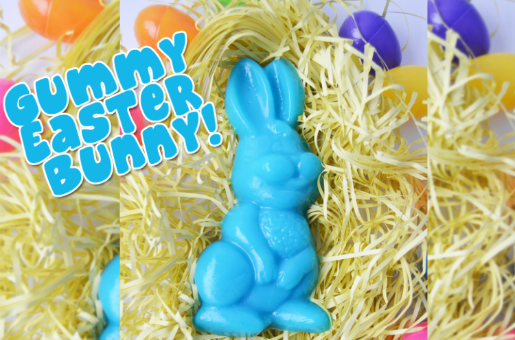 gummy easter bunny candy gummybear i am a gummy bear song gummibar youtube youtuber recipe fun parents kids friendly adorable easter basket