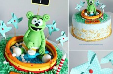 kids birthday party cake gummy bear gummybear song gummibar party ideas childrens cartoon character