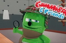 gummy bear show gummibar and friends season finale i am a gummybear song animated kids cartoon show animation youtube web series youtuber